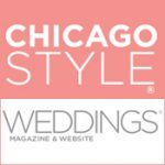 Chicago Social Wedding Badge